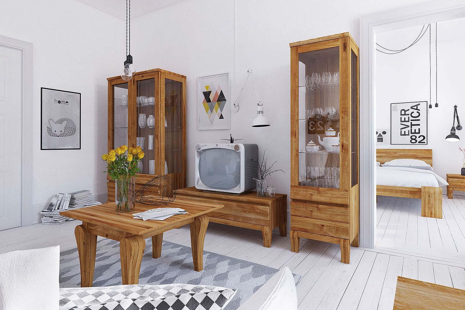 Salon w  stylu prowansalskim