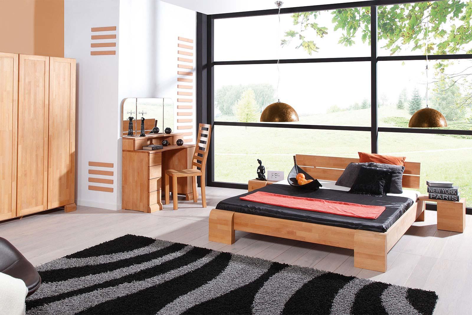 Nowoczesne meble drewniane do sypialni