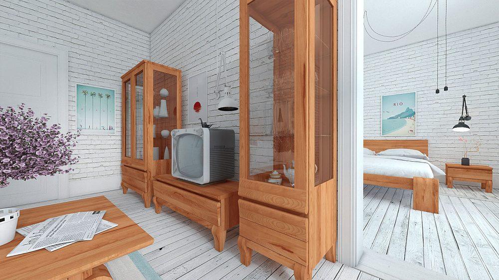 Funkcjonalność i styl na niewielkim metrażu - PANORAMA 360°