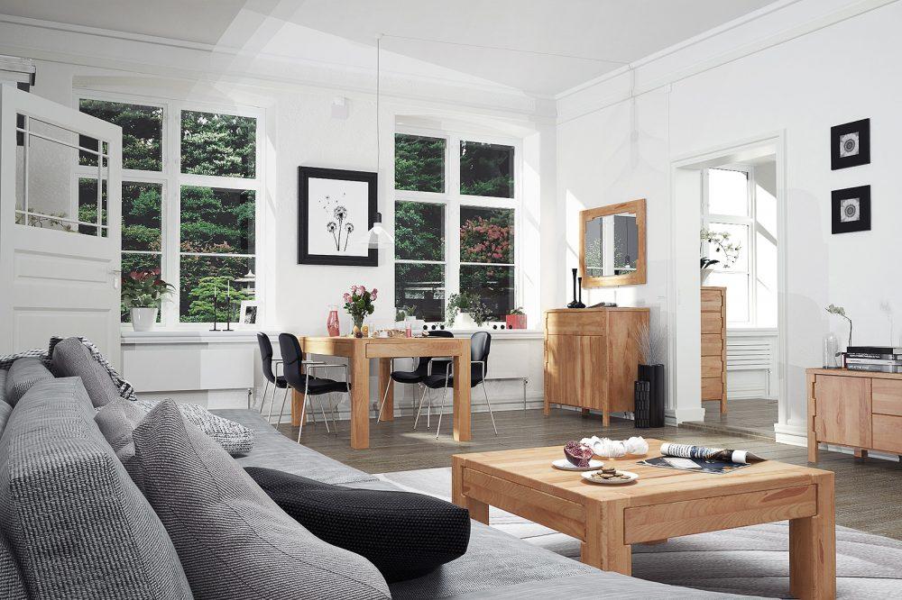 Meble z litego drewna — idealne uzupełnienie stylowych wnętrz