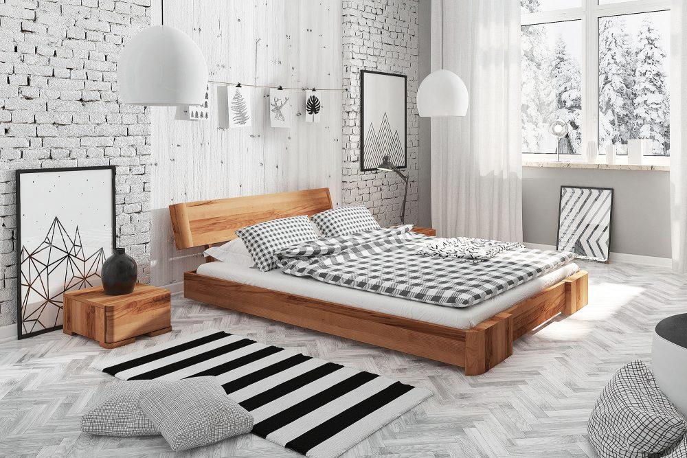 Łóżko drewniane do sypialni — na co zwrócić uwagę przy jego wyborze?