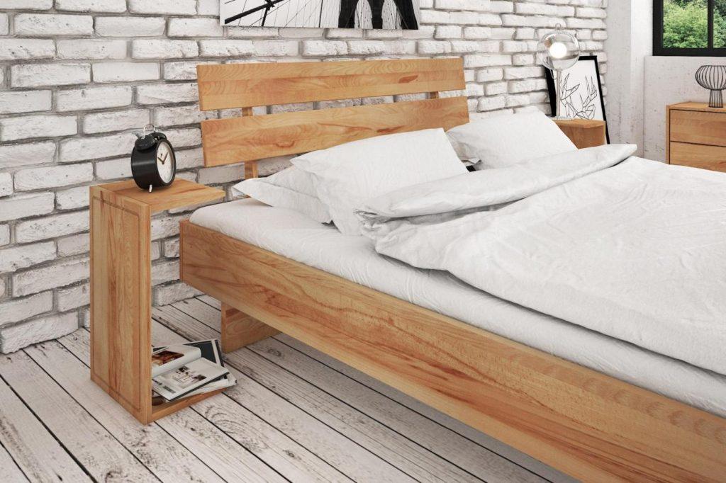 Aranżacja małej sypialni drewno