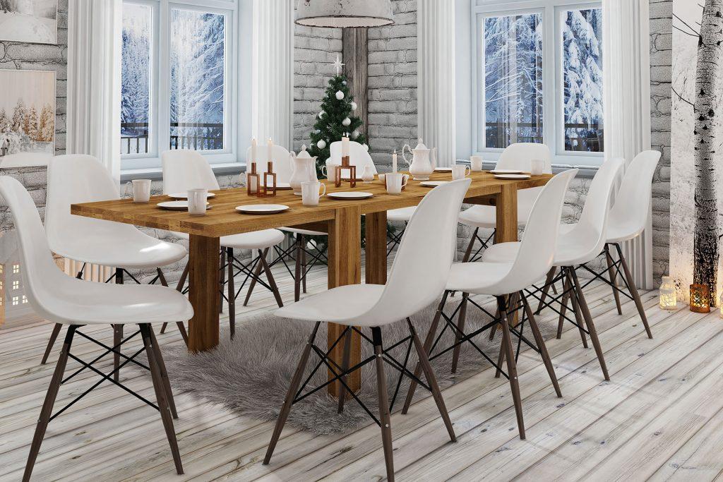 Stoły drewniane James - świetny wybór do jadalni