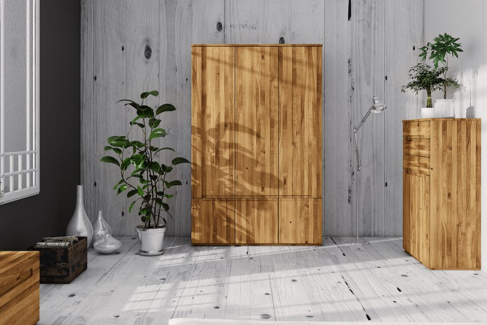 Szafy drewniane — najlepsze meble do przechowywania ubrań i bielizny