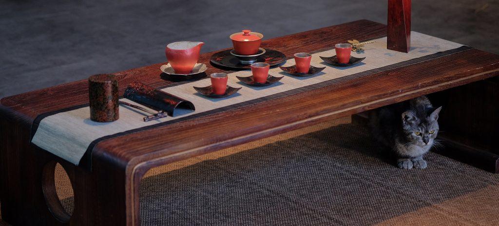 meble chińskie stolik do jadalni