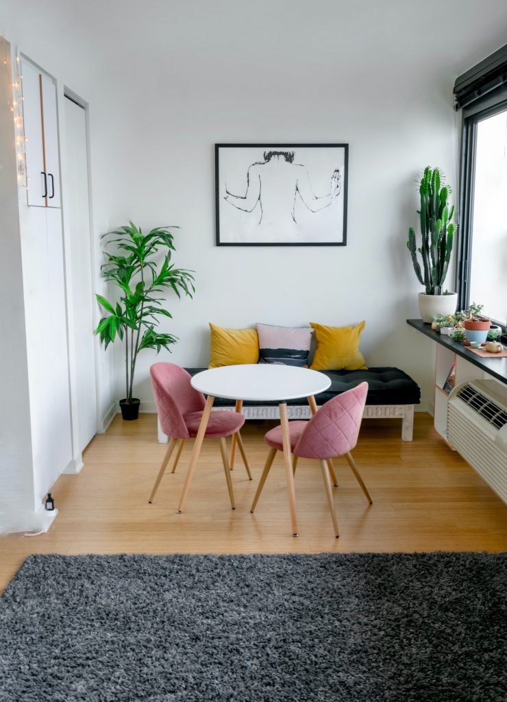 meble tapicerowane w stylu skandynawskim