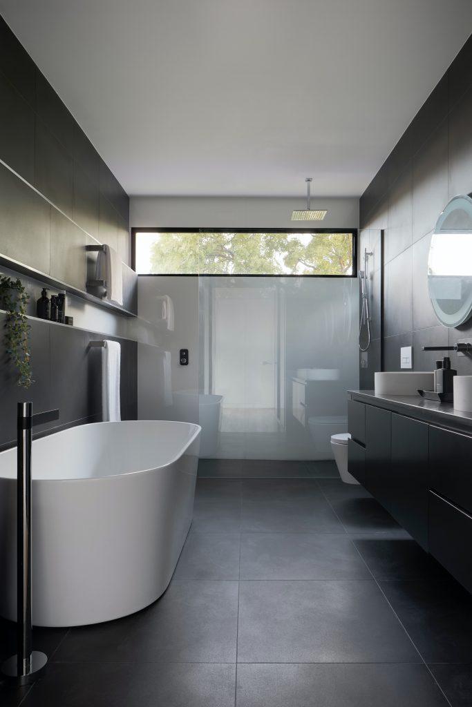 Nowoczesne mieszkanie - łazienka