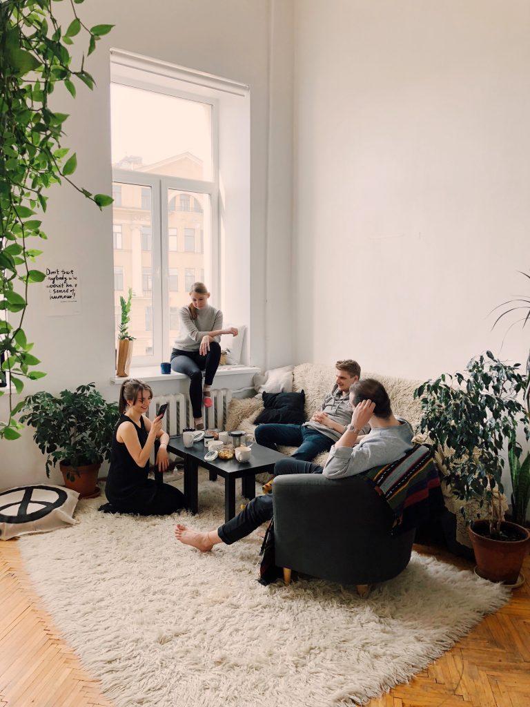 Salon - miejsce wypoczynku i spotkań