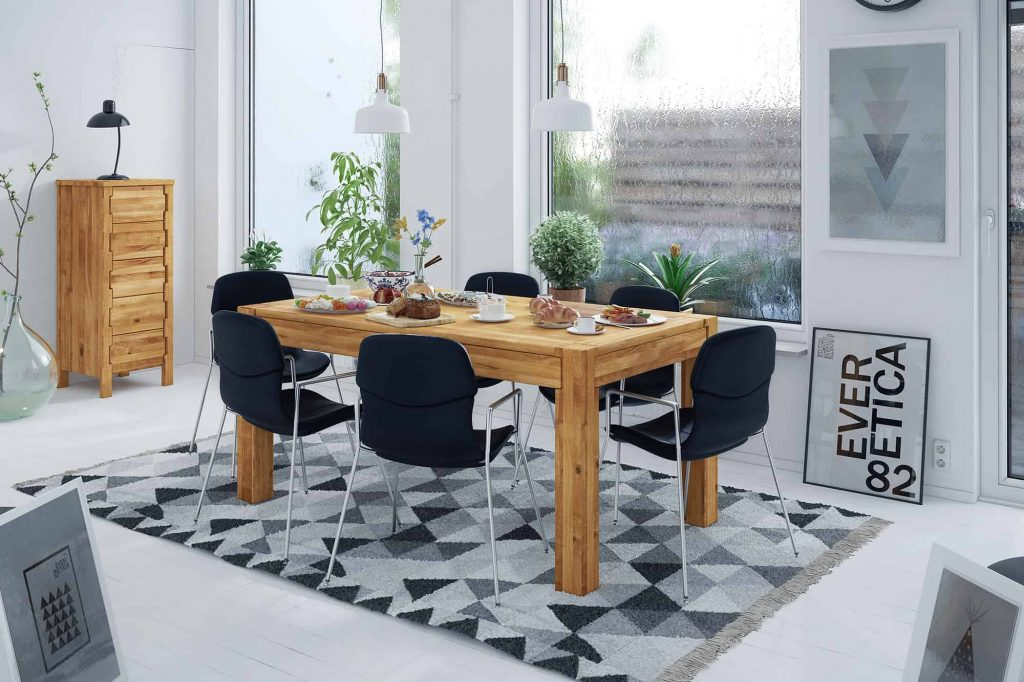 Trendy wnętrza 2021 - odpowiedni rozmiar dywanu