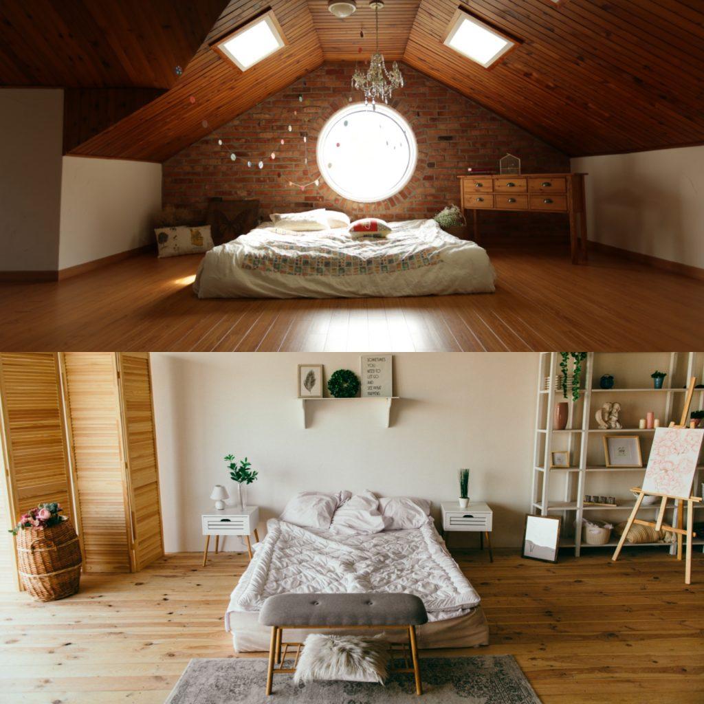 Barwy zimne vs ciepłe w sypialni