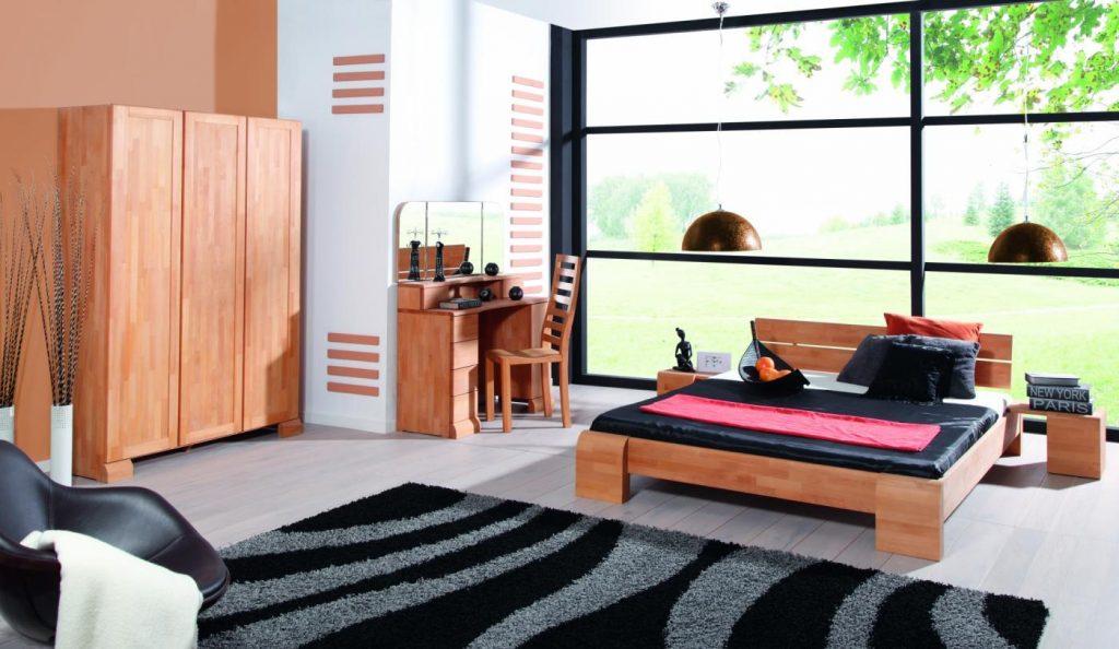 biurko z drewna beds
