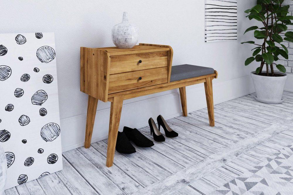 Siedziska do przedpokoju — ławki, pufy i inne meble, które ułatwią wygodne zakładanie butów