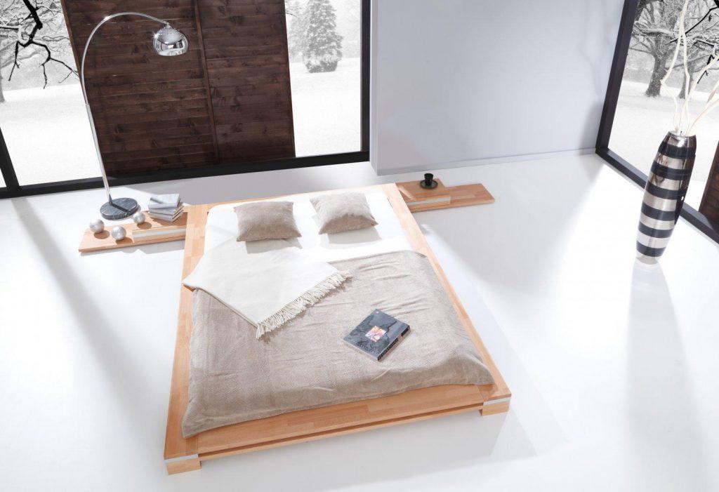 Meble z litego drewna - łóżko TOMA