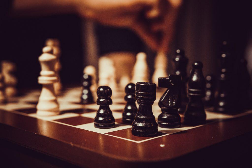 Drewniane prezenty - szachy