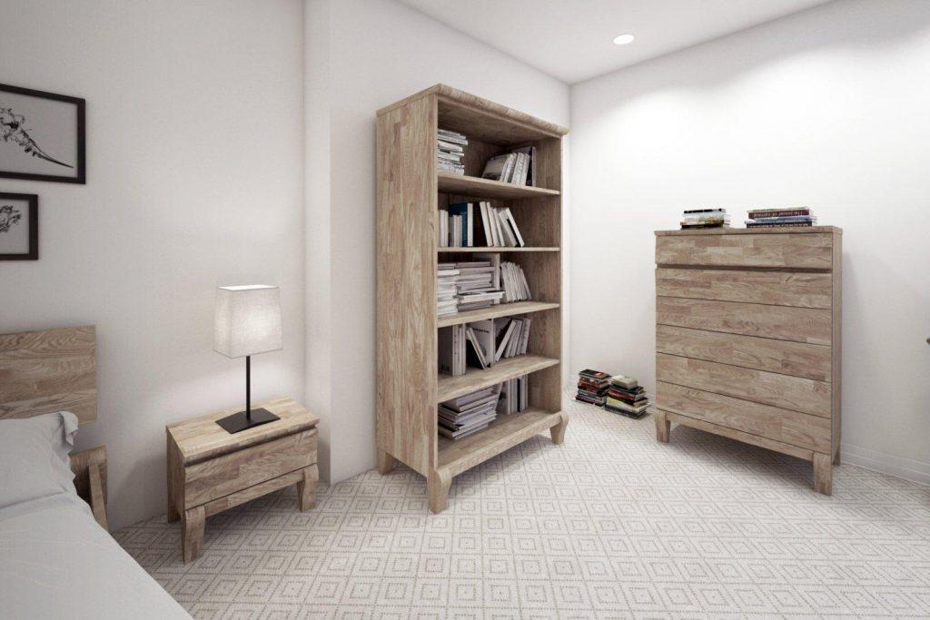Regał BONA - półki na książki