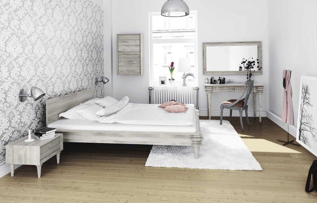 Kolekcja Paris - pastelowo w sypialni