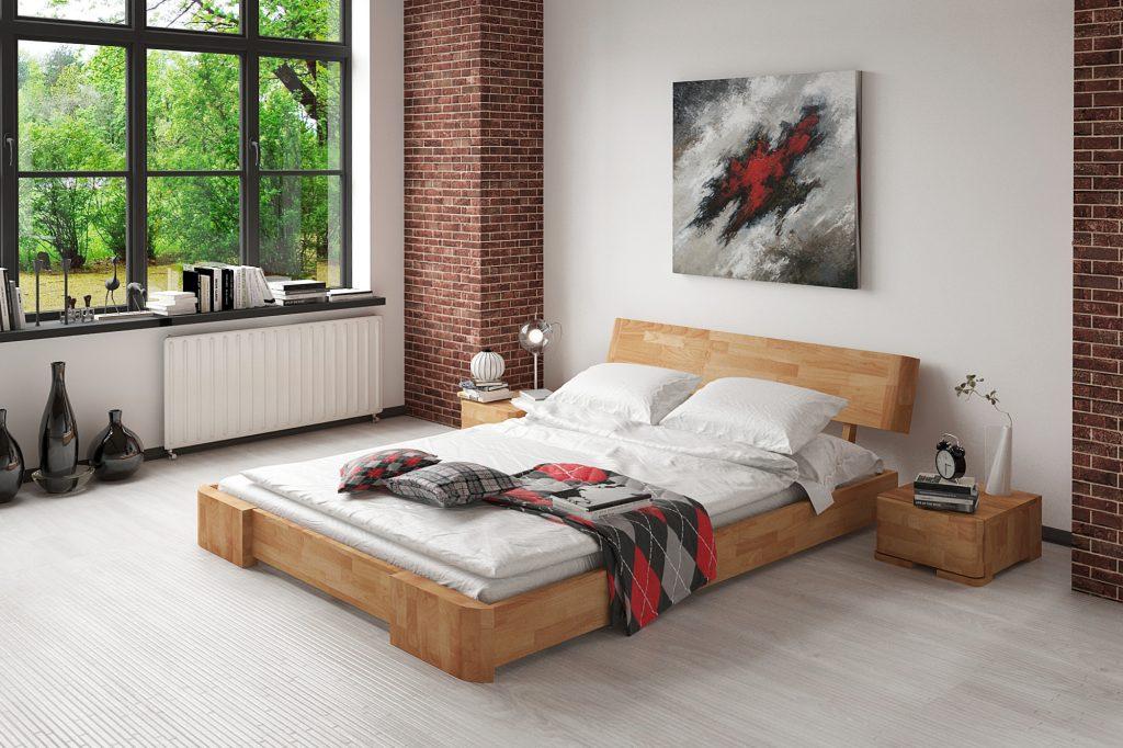 Łóżko BIT z zagłówkiem