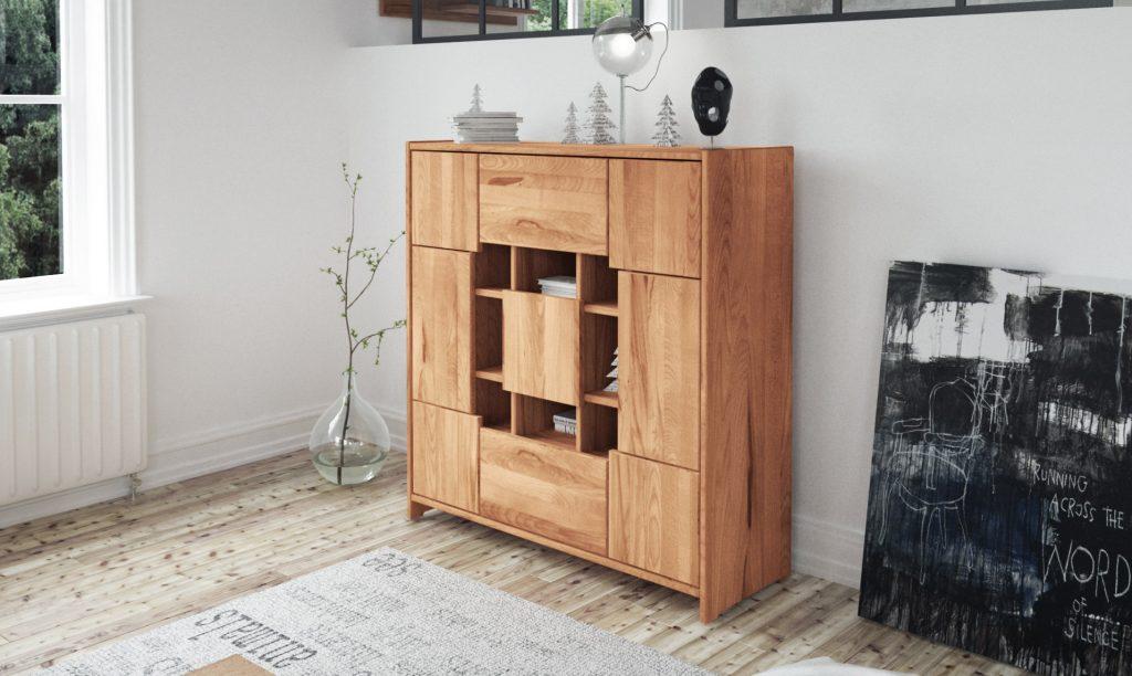 Drewniana komoda z kolekcji Vigo od The Beds