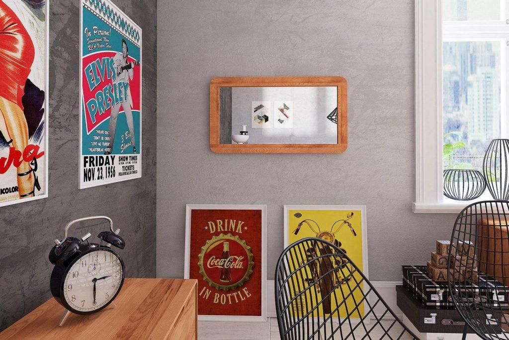 lustro GREG - zdjęcia na ścianie