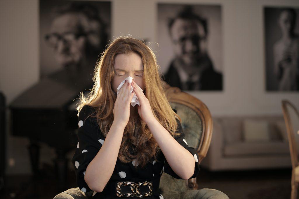 Osoba z alergią / alergik