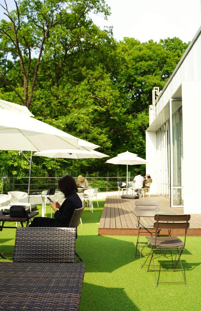 Meble ogrodowe drewniane - patio