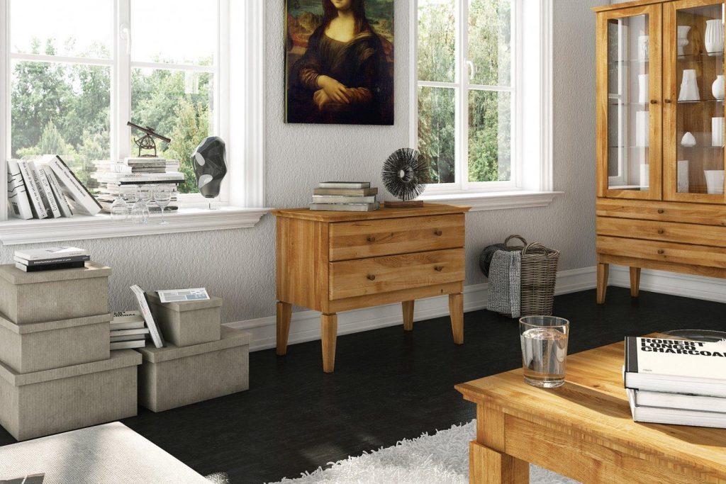 Meble drewniane - komoda odys