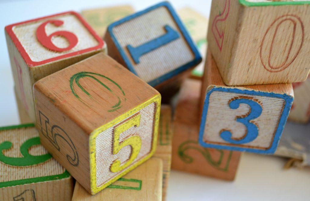 Kolorowe klocki dla dzieci