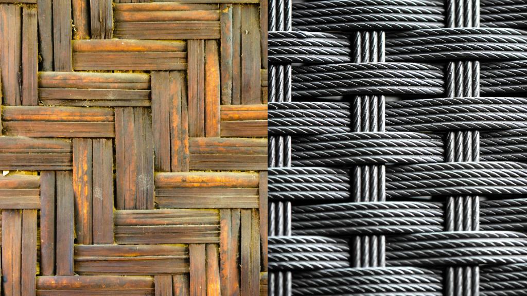 Technorattan vs rattan