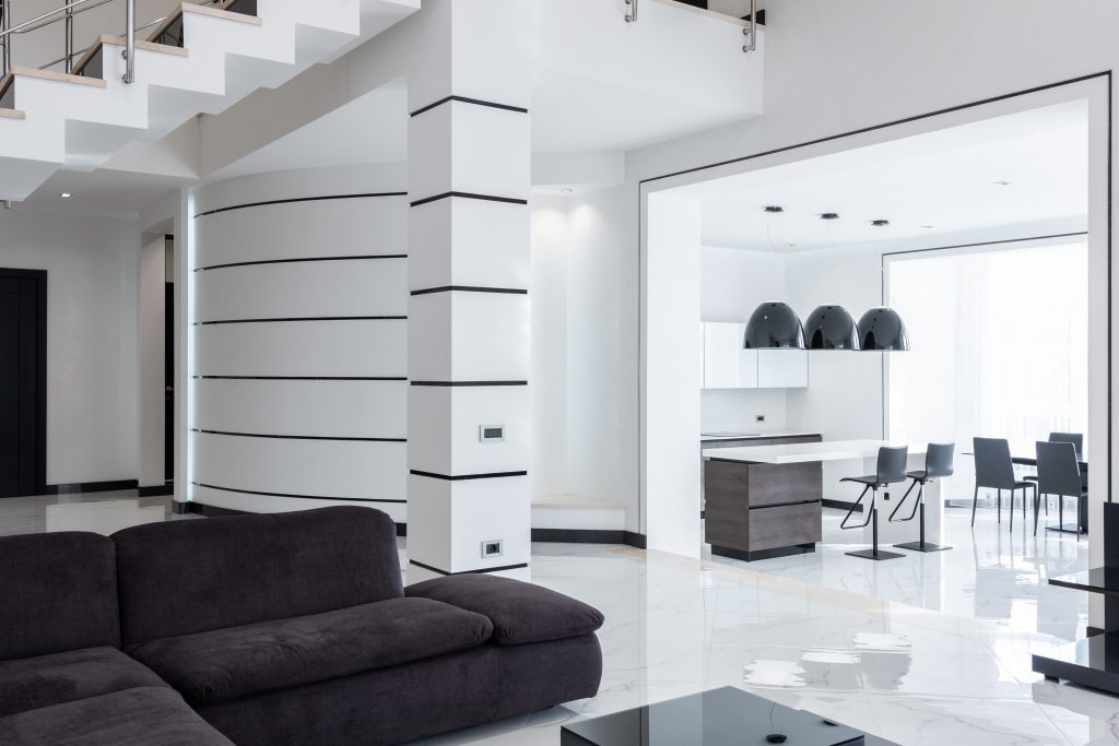 Futurystyczny apartament