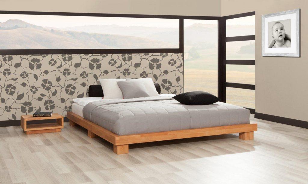 Niskie łóżka w stylu japońskim