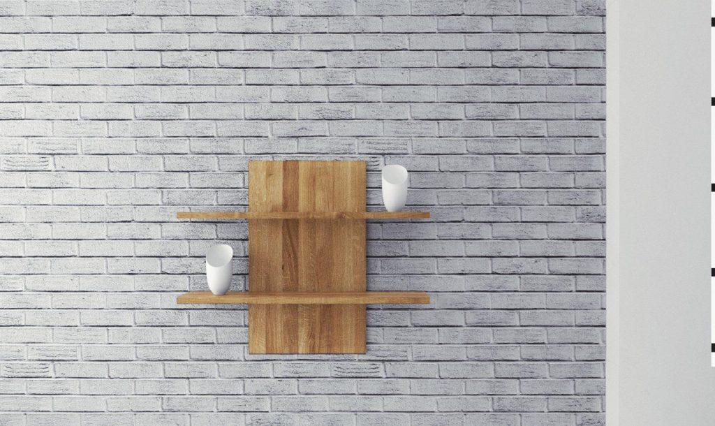 Otwarta półka na ścianę