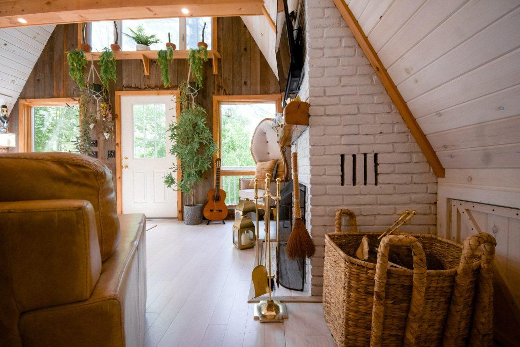 Nowoczesny styl rustykalny - wnętrze w stylu modern chic