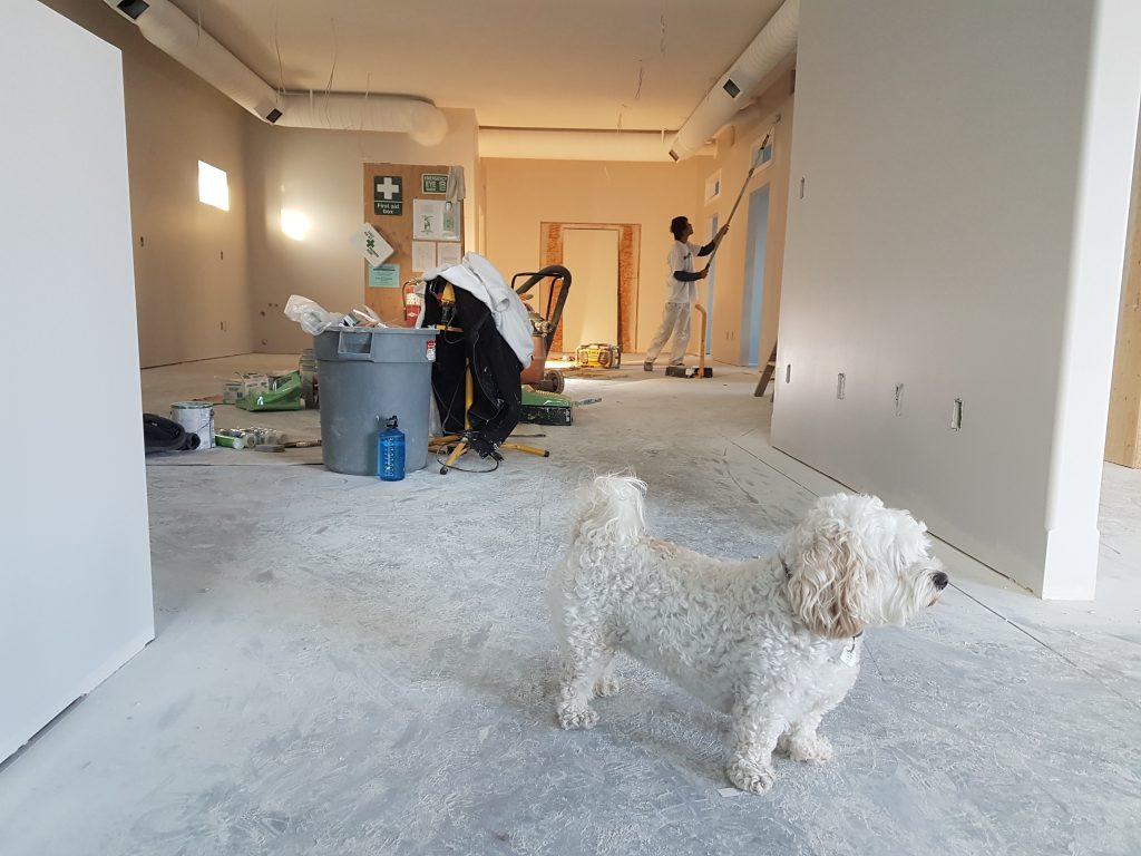 Prace wykończeniowe w mieszkaniu