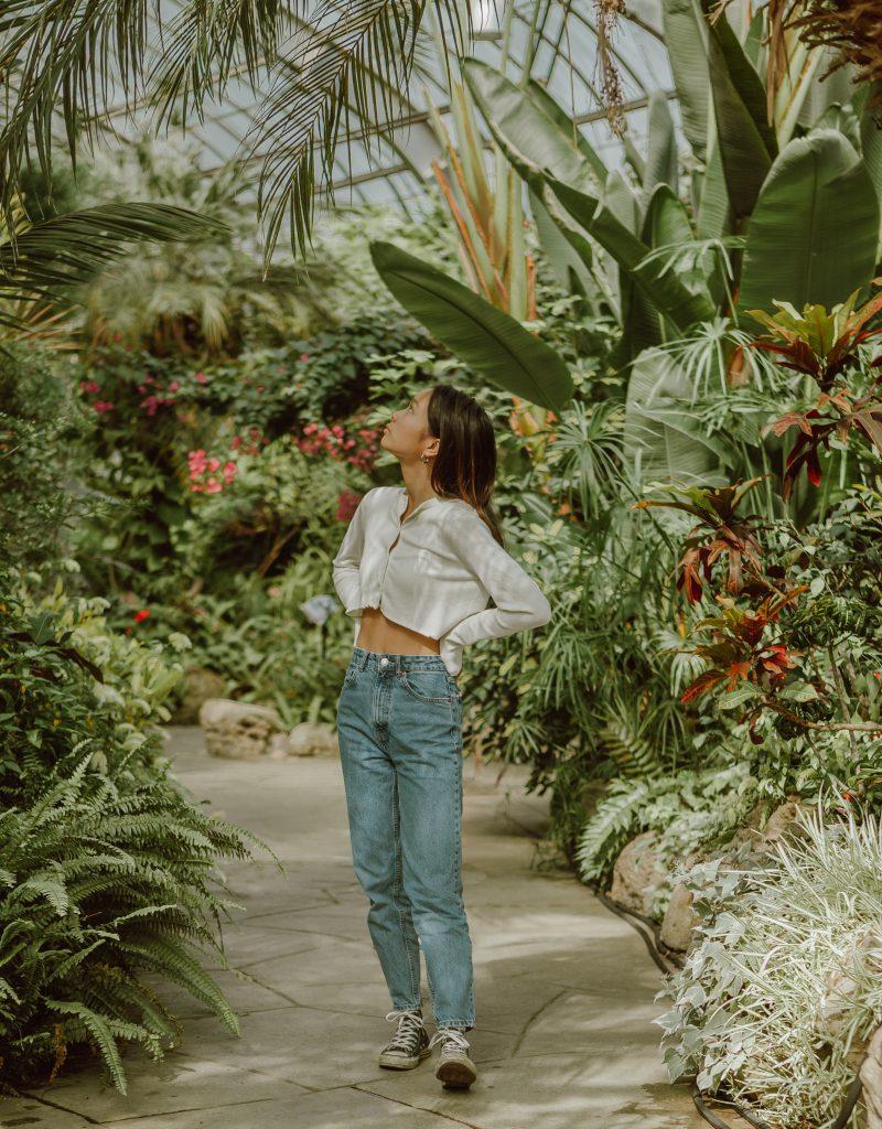 Styl balijski - roślinność