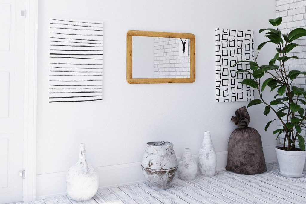 Lustra loftowe - lustro RETRO