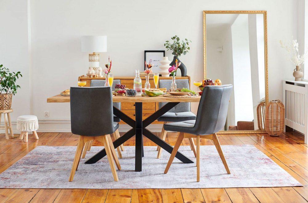 Stoły live edge – jak wybrać i pielęgnować stół do jadalni?