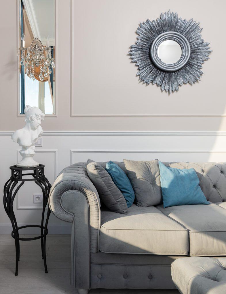 Meble tapicerowane - elegancka sofa