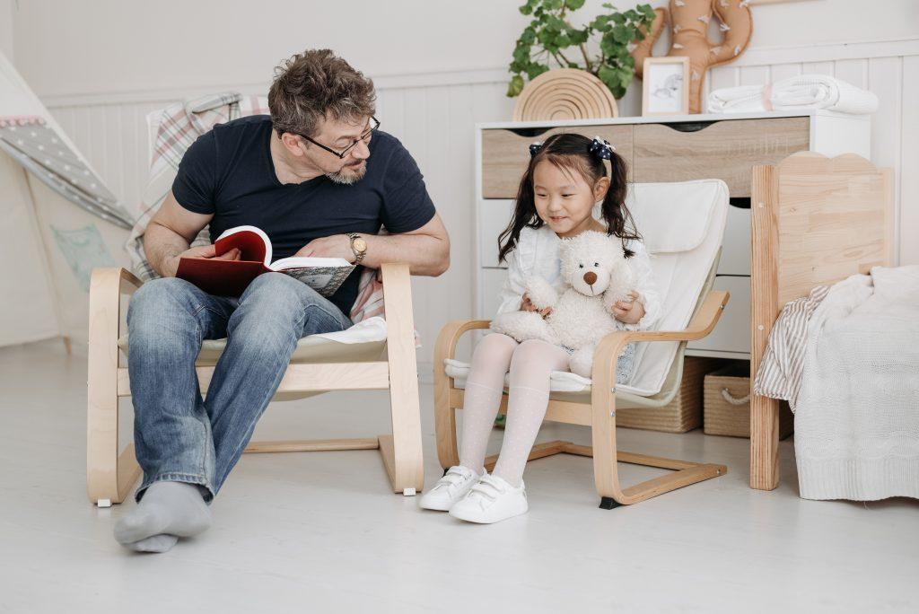 Fotel dla dorosłego i dziecka
